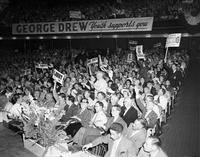 George Drew : Massey Hall rally