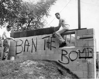 Demonstrations: Anti-war and ban the bomb