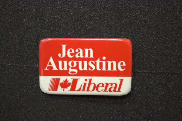 Jean Augustine Campaign buttons