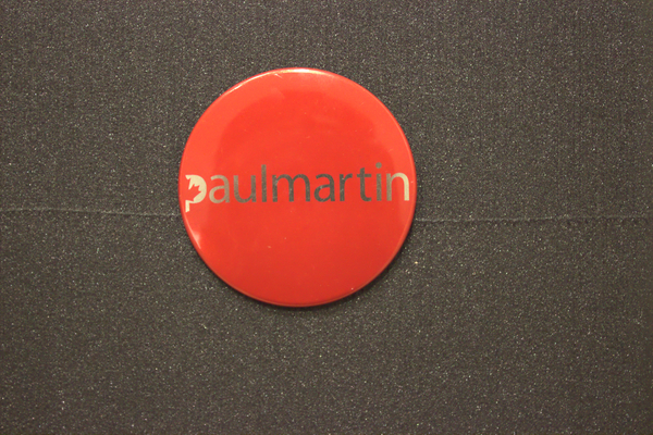 Paul Martin leadership campaign button