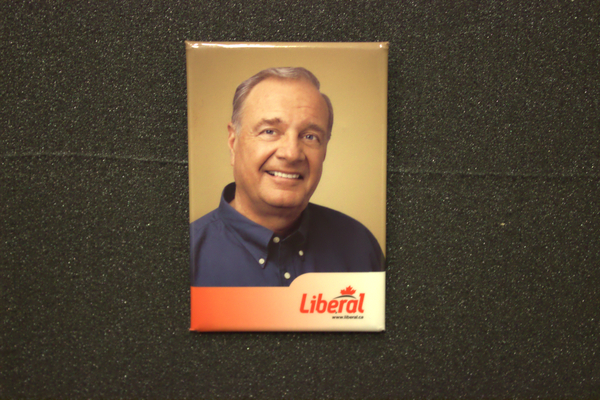Paul Martin leader button