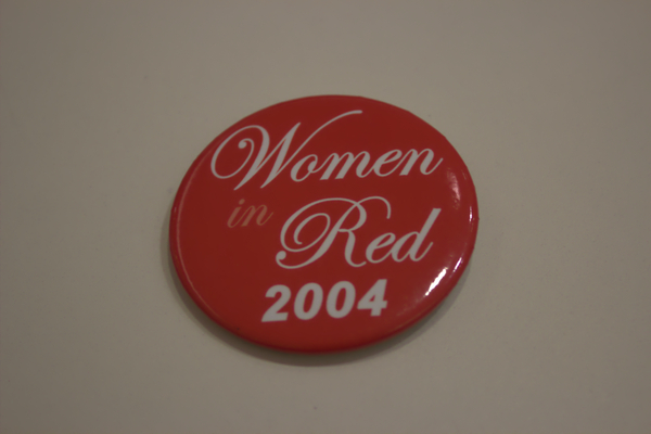 Women in Red 2004 button