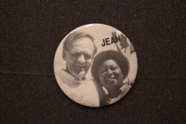 Jean Augustine and Jean Chretien Jean button
