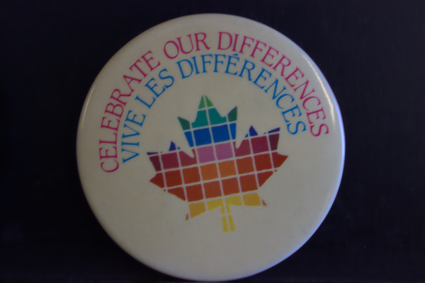 Celebrate our differences button