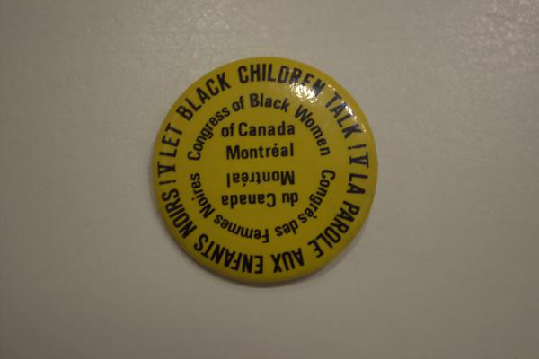 Let Black Children Talk conference button