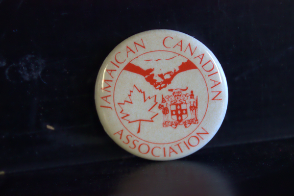 Jamaican Canadian Association button