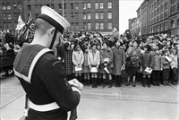 Armistice Day : At Cenotaph