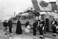 Armistice Day Services : H.M.C.S. Haida