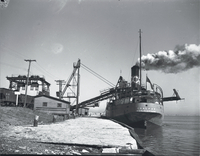 "Boats, ""Coalfax"" : coal carrying vessel"