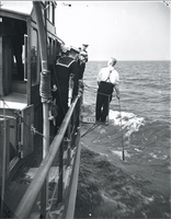 """Boats, """"Haidee"""" & R.C.N.V.R. cadets in training tour"""