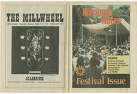 Mariposa Folk Festival 1984 program