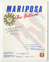 Mariposa Folk Foundation 1987 program