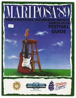 Mariposa Folk Festival 1989 program