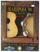 Mariposa Folk Festival 1990 program