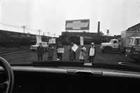 Food Prices (Costs) Picketers [not used]