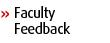 Faculty Feedback
