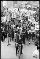 Vietnam war demonstrations : Parade to city hall