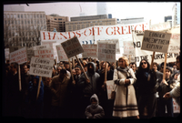 "Ontario Parliament Demonstration – ""Hands off Greece"""