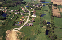 Golf course and residential, southwest of Musselman