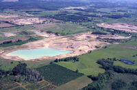 Gravel pits north and northeast of Goodwood