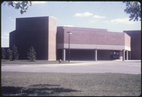 Burton Auditorium - (Phase I of Centre for Fine Arts) completed September 1965