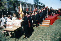 Convocation - Receiving diplomas