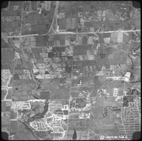 Aerial view - York Campus and district - 1962