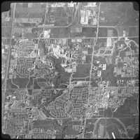 Aerial view - York Campus and district 1971