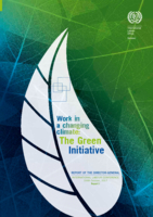 Work in a changing climate: The Green Initiative: Report of the Director-General