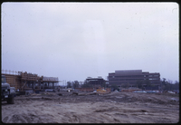 Osgoode Hall and Central Square under construction