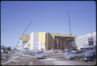 View of Central Library prior to precast