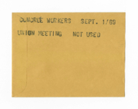 Concrete Workers : Union Meeting [not used]