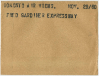 Toronto Air Views : Frederick Gardiner Expressway