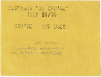 Caribana '70 Cruise [not used]