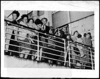Refugees Held Aboard Ship