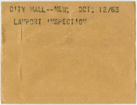 City Hall -- New : Lamport inspection