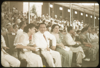 Vicky & Quirino. Charge d' Affairs. Lockett -far right in white