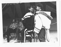 Two Inuit Women Throat Singing