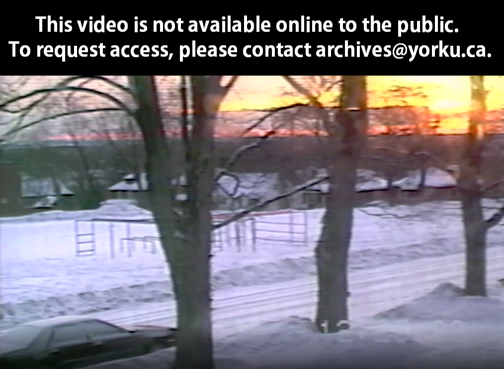 Burke family videos : Christmas '92 : Sunrise