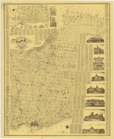 Tremaine's map of the county of York, Canada West