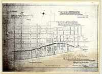 "Copy of part of the ""Plan of improvements"" to be made in front of the City of Toronto shewing the water lots granted to the City Corporation in terms of a Minute in Council bearing date the 17th day of August 1837"