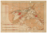 Geological and topographical map of the northern part of the Lake of the Woods and adjacent country