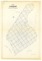 Plan of Lindsay, in the County of Bruce