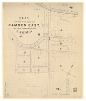 Plan of the village of Camden East in the Township of Camden