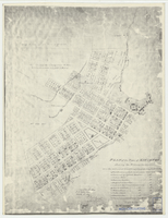 Plan of the town of Kingston shewing the military reservations, also the unlocated land being principaly only fit for a quarry