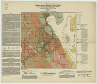 Map of cobalt--nickel--arsenic--silver area near Lake Temiskaming, Ont. [1907]