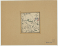 Sketch map of the Lake Abitibi region