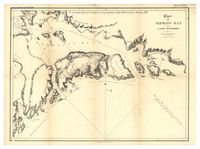 Chart of Nepigon Bay, Lake Superior