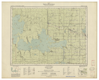 National Topographic Series (scale 1:126,720) : Abitibi, Ontario - Quebec [sheet 32D/NW]