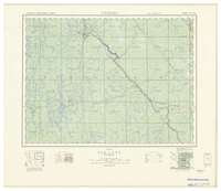 National Topographic Series (scale 1:126,720) : Elk Lake, Ontario [sheet 41P/NE]
